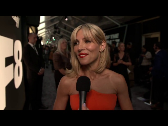 The Fate Of The Furious Elsa Pataky New York Premiere Interview