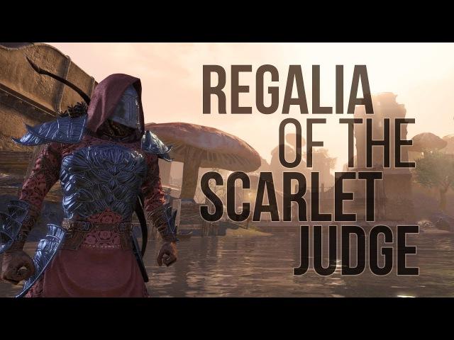 ESO Morrowind: The Regalia of the Scarlet Judge Costume Sir Socks`s Ball of Yarn