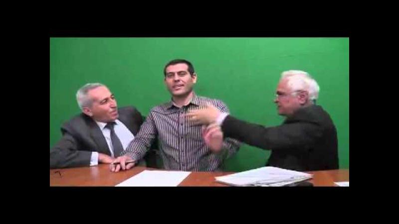 Rehim Qazıyevin SəsTV-də cixisi (18 söyüş var)