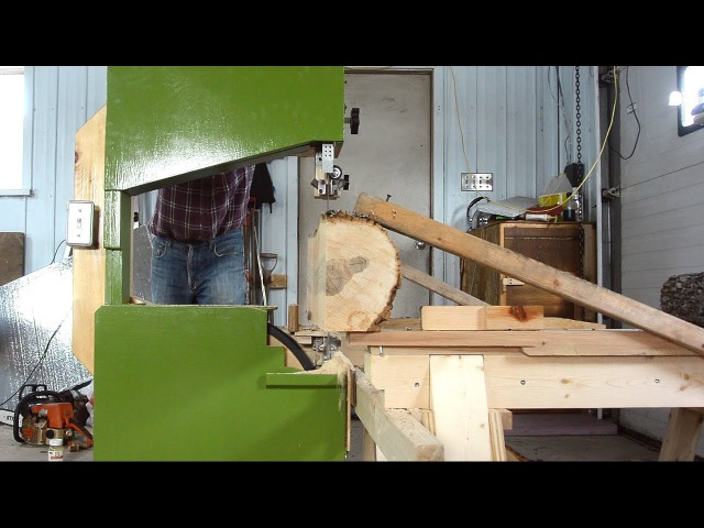 Bandsaw-on-a-dolly sawmill improvements