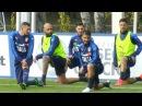 Italia-Germania, gli Azzurri si allenano a Milanello