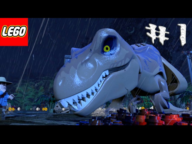 Лего игра мультик про динозавров.Эпизод 1-Пролог.LEGO game a cartoon about dinosaurs.Episode 1.레고.