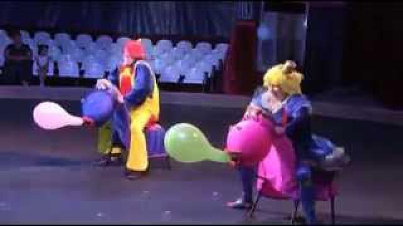 Клоуны Цирковой номер на корпоратив Скачки