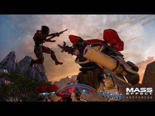 MASS EFFECT™: ANDROMEDA – официальный трейлер игрового процесса