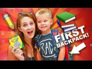 FIRST BACK TO SCHOOL SHOPPING! 🎒 Pre-school supplies haul! ✏️