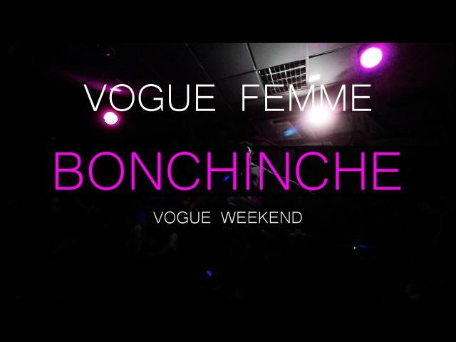 Bonchinche Vogue Weekend Vogue Femme Dora Z fam vs Viktoria Z fam