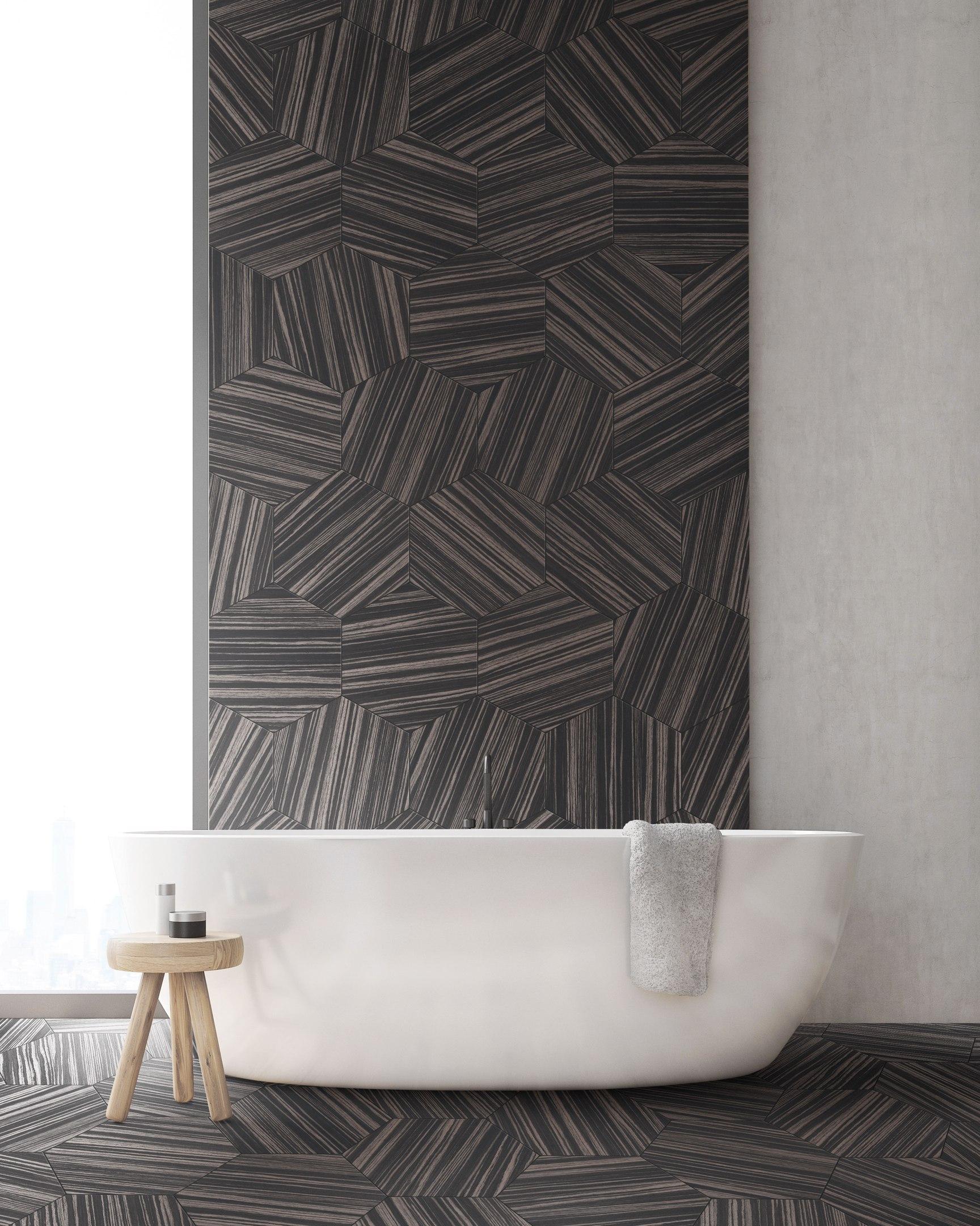 Фото с выставки Cersai 2017 Materia Viva - ванная комната