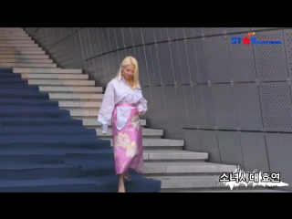 [S영상] 소녀시대 효연-원더걸스 선미-포미닛 현아-티아라 은정 효민-장도연, 해질녘에도 빛나는 여인들
