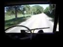 1974 International Transtar 4070 A ride in cab