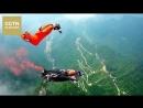 Китайский вингсьют-пилот установил мировой рекорд, поразив движущуюся мишень во время полета