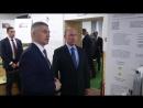 Артур Парфенчиков презентовал Владимиру Путину стратегию развития Карелии