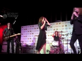 Halestorm w_ Sebastian Bach - Slave to the Grind - LIVE @ Golden Gods Press Conf