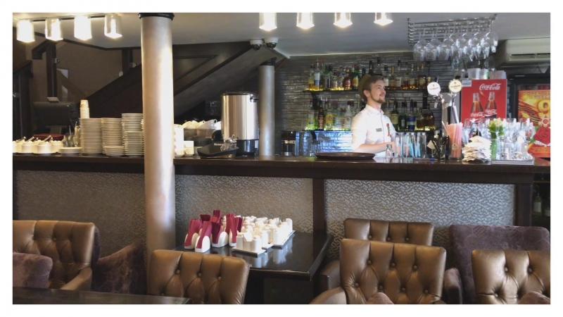 Подготовка к банкету в Vinsent cafe