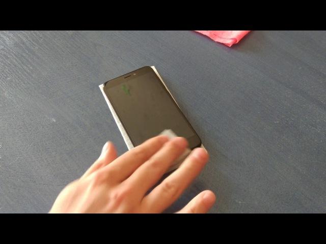 Клею Защитное стекло Full Screen 2.5D на Xiaomi Redmi 4X