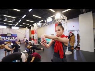 Танцы: Оля Бараняй, Ирина Кононова, Александра Киселёва - Самая опытная и юная (сезон 3, серия 15)