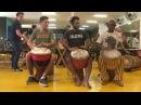 Mamady Keita plays djembe solo for rhythm Kudani with TTMDA team!