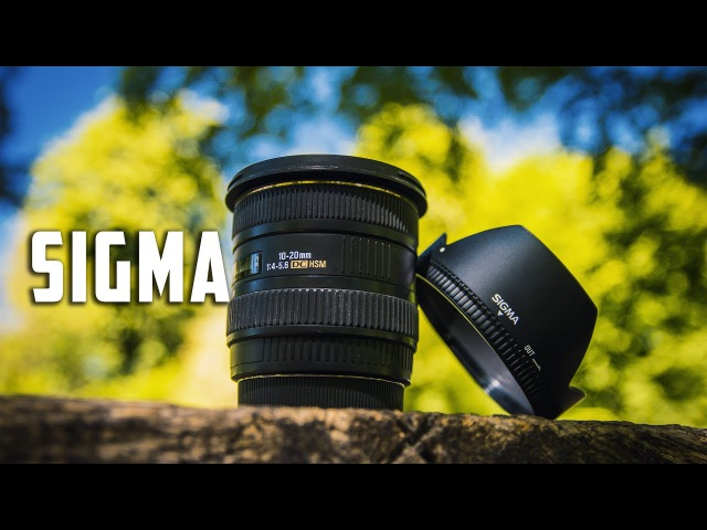 Sigma 10-20mm f4-5.6 Полный Обзор