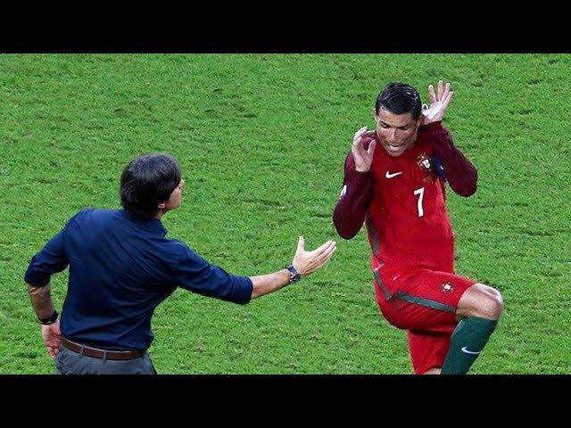 Funny and Crazy Refuses Handshake in Football