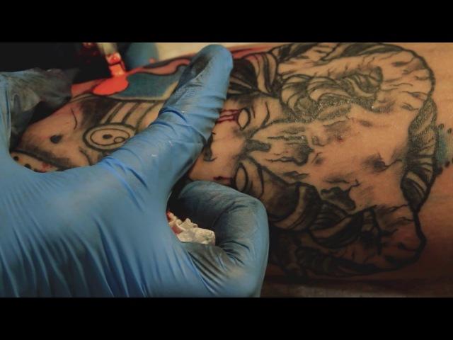 Neotraditional Tattoo Sergio Caicedo artist
