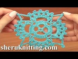 How to Crochet Square Motifs Tutorial 15 Part 1 of 2