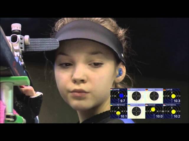 2016 European Championship 10m, Györ, Hungary - Mixed Team Air Rifle Semifinal Finals