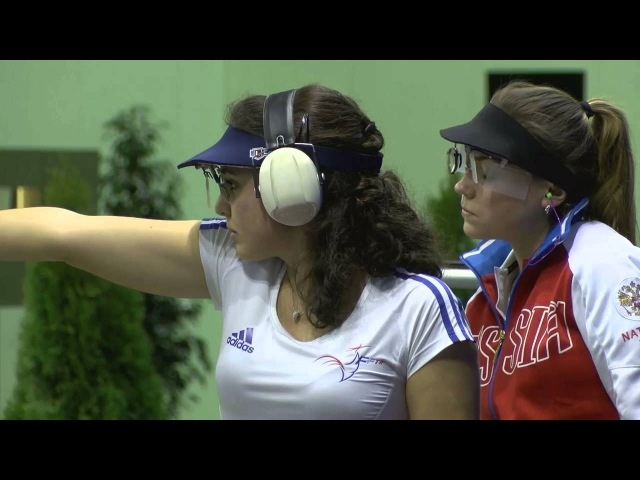 2016 European Championship 10m, Györ, Hungary - Air Pistol Women Junior Finals