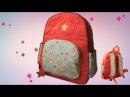 Как сделать рюкзак своими руками в школу / Школьный рюкзак/ подробный мастер-класс от SvGasporovich