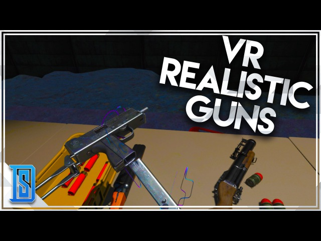 Hot Dogs, Horseshoes Hand Grenades (VR) - Realistic Gun Game (HTC VIVE)