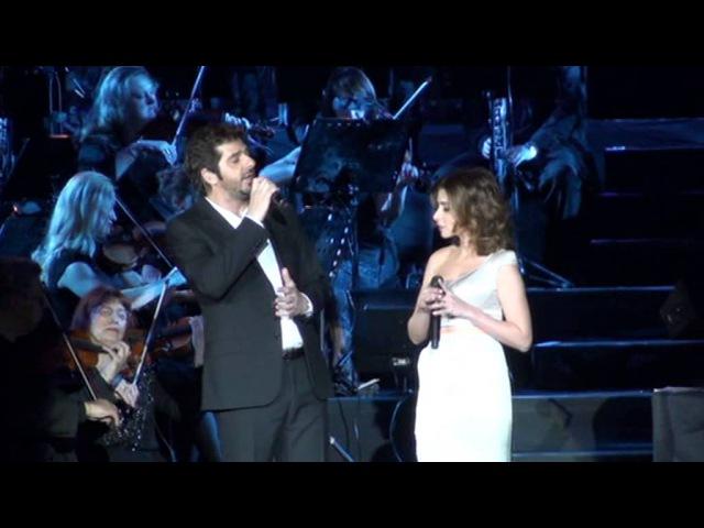 Ces Diamants-Là - Patrick Fiori / Julie Zenatti (Notre Dame de Paris le Concert - Moscou - 2013)