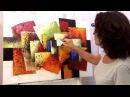 Curso de Pintura - Abstrato com Textura