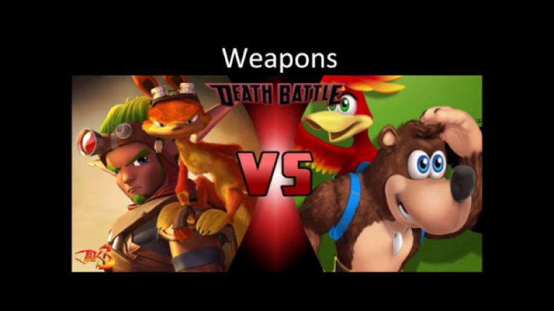 Battle of death episode 50: Jak Daxter vs Banjo Kazooie (Джек и Декстер против Банджо и Казуи).
