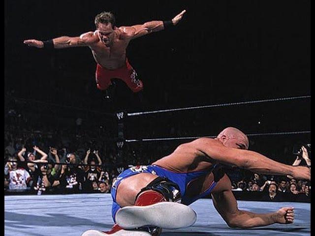 Kurt Angle vs Chris Benoit Royal Rumble 2003 Highlights