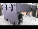 Тепловая пушка HG80 дрова, уголь теплогенератор пр-во GRUZDEV Manufacturing
