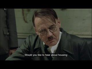 Hitler reacts to ESO: Housing update