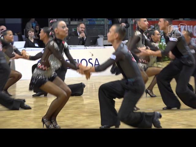 Duet Perm, RUS | 2015 World Formation Latin | The Final | DanceSport Total