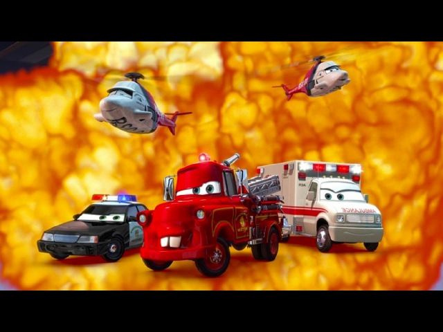 Мультики Машинки Полиция Пожарная Машина Скороя Помощь Тачки Мультачки Байки Мэтра Машинки для детей