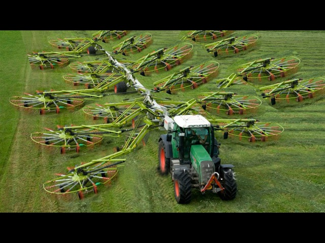 World Amazing Modern Agriculture Equipment and Mega Machines Tractor, Harvester, Loader, Excavator