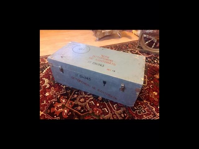 Сундук из старого ящика