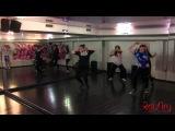 Настя Калачева - Hip-Hop - Live dance class @RaiSky Dance Studio