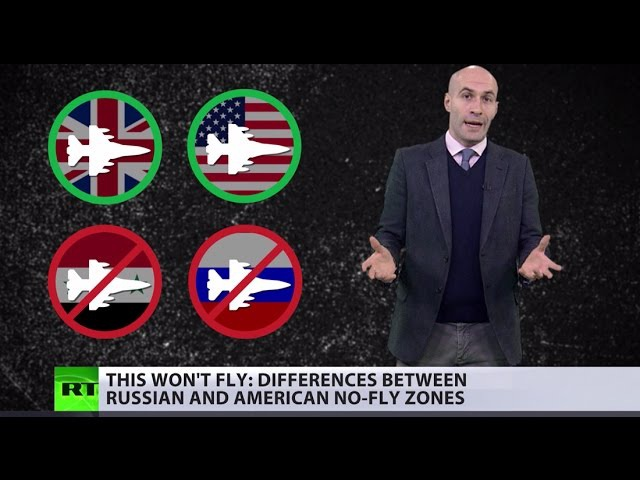 Difference between Russian 'no-fly' US 'we fly/you don't' zones