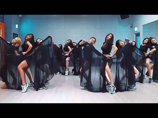 SISTAR - I Like That - mirrored dance practice video - 씨스타 아이라이크댓