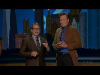 Мэттью Бродерик на шоу «Conan» Конана О'Брайена (03.11.2016)