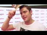 Baywatch Slow-Mo Marathon Zac Efron Interview