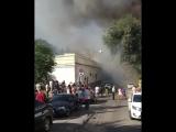 Пожар в отеле Отеле Torn House на Семашко 50Б - ч.2 - Это Ростов-на-Дону!