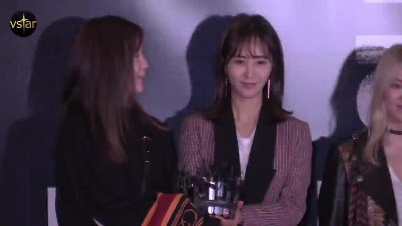 윤아(Yoona) 응원 온 소녀시대(SNSD 서현.써니.티파니.효연.유리.수영) @공조 VIP시사회