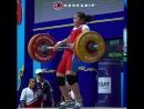 Ким Ил Гьенг толкает 107 кг