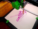 Pegasus Lazer рисует Танк Т-90 специальной ручкой