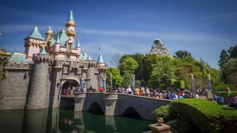 Disneyland Park Tilt-Shift - Disneyland Resort (1)