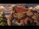Shingeki no Kyojin ТВ 2 12 серия END русская озвучка OVERLORDS / Вторжение Титанов 2 сезон 12 / Атака Гигантов [vk] HD