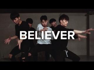 1Million dance studio Believer - Imagine Dragons / Jinwoo Youn Choreography